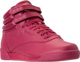 1637644afddb4 Reebok Girls  Big Kids  Freestyle Hi Casual Shoes