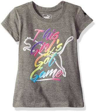 Puma Little Girls' Graphic Tee
