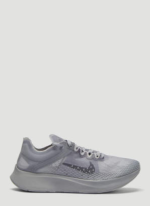 sale retailer 259bc b1f47 Nike Zoom Fly SP Fast Running Sneakers in Grey