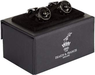 Deakin & Francis Jet Engine Cufflinks