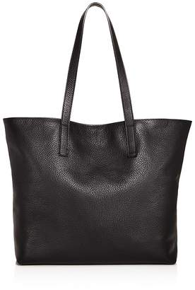 Aqua Pebbled Leather Tote - 100% Exclusive