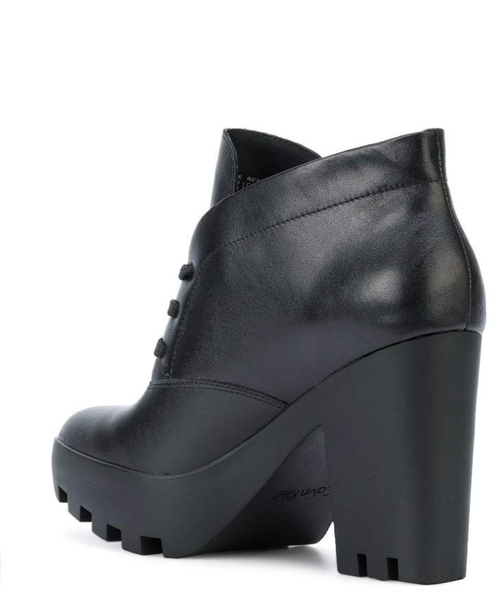Calvin Klein Jeans chunky heel ankle boots
