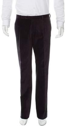 CNC Costume National Pinstripe Velvet Pants