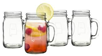 Cathy's Concepts Cathys Concepts Home State 16 oz. Mason Jar