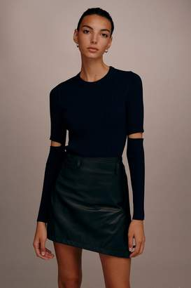 Topshop Cut-Out Essential Knitted Jumper by Boutique