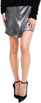 Astr Nell Silver Skirt