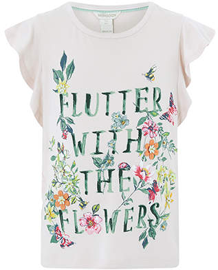 Monsoon Flutter Tee