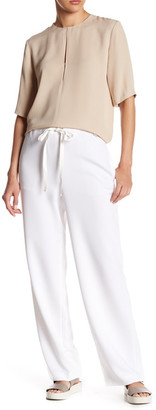 Theory Winszlee Wide Leg Trouser $325 thestylecure.com