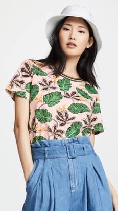 3.1 Phillip Lim Floral Printed T Shirt