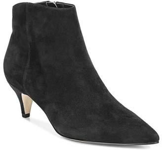 2d108a35577 Sam Edelman Black Suede Upper Women s Boots - ShopStyle