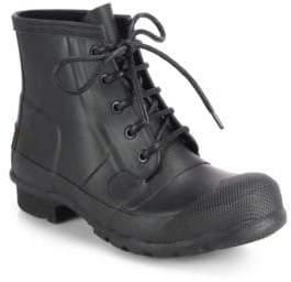 Hunter Lace-Up Rain Boots