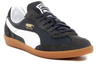 Puma Super Liga OG Retro Leather & Suede Sneaker