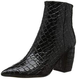 60fef1295 Office Women s Aloud Ankle Boots Black Croc 00950