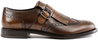 Tod's Buckled Strap Monk Shoes