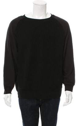 Dries Van Noten Wool-Blend Crew Neck Sweatshirt