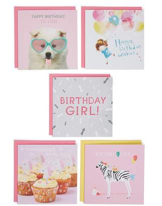 Marks and Spencer Pack of 5 Birthday Cards