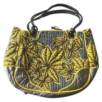 Jamin Puech Green Tweed Handbag