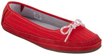 L.L. Bean L.L.Bean Women's Hearthside Slippers, Ballet Knit