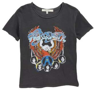 Junk Food Clothing Aerosmith Boxy Tee