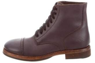 Duckie Brown Florsheim x Ludgate Leather Ankle Boots w/ Tags
