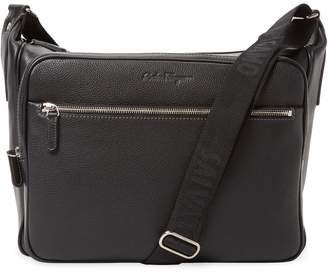 Salvatore Ferragamo Adjustable Strap Messenger Bag
