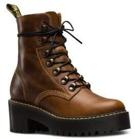 Dr. Martens Sanguine Leona Leather Booties
