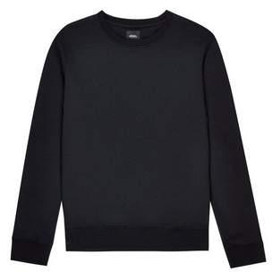 Burton Mens Black Crew Neck Sweatshirt