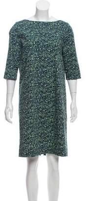 Cos Printed Knee-Length Dress