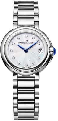 Maurice Lacroix Women's 'Fiaba' Swiss Quartz Stainless Steel Casual Watch, Color:Silver-Toned (Model: FA1003-SS002-170-1)