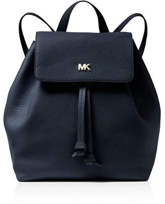 MICHAEL Michael Kors Junie Medium Leather Flap Backpack