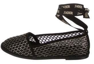 Christian Dior Nicely-D Espadrille Flats