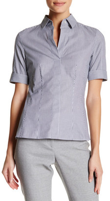 BOSS HUGO BOSS Bashini Striped Shirt $215 thestylecure.com