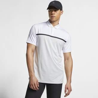 4a831090f Nike Men's Striped Golf Polo Dri-FIT TW Vapor
