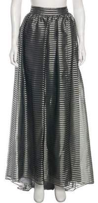 Giorgio Armani Striped Maxi Skirt w/ Tags