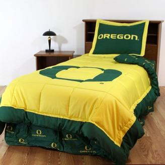 Oregon Ducks Reversible Comforter Set - Twin