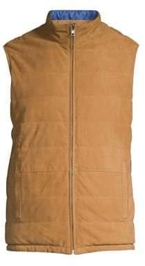 Peter Millar Suede Reversible Vest
