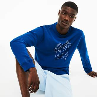 Lacoste Men's Crew Neck Embroidery Sweatshirt