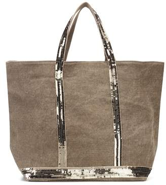 Vanessa Bruno Cabas Medium linen shopper