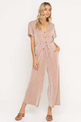 ALL IN FAVOR Soft Knit Jumpsuit