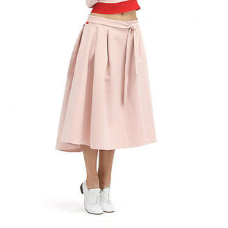 Repetto (レペット) - レペット Skirt with belt at the waist