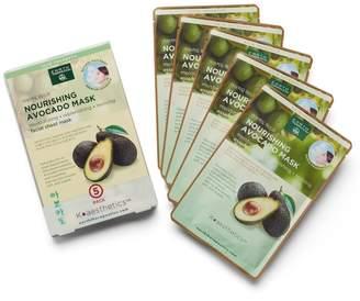 Earth Therapeutics 5-pk. Nourishing Avocado Face Masks