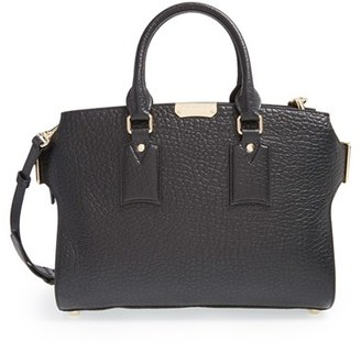 Burberry 'Medium Clifton' Signature Grain Leather Tote $1,795 thestylecure.com