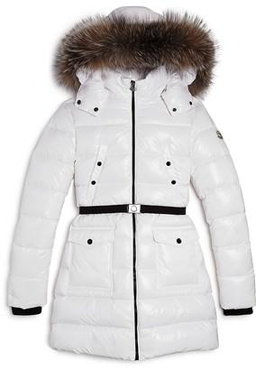 Moncler Girls' Fragont Puffer Coat - Big Kid $880 thestylecure.com
