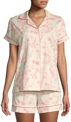 BedHead Women's Two-Piece Printed Pajama Set