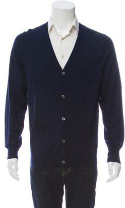 Acne Studios Two Pocket Cardigan Sweater