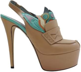 Antonio Marras Beige Leather High Heel