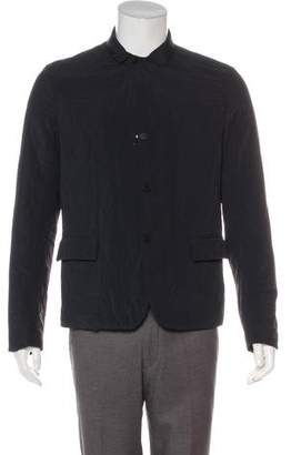 Louis Vuitton Leather-Trimmed Quilted Jacket