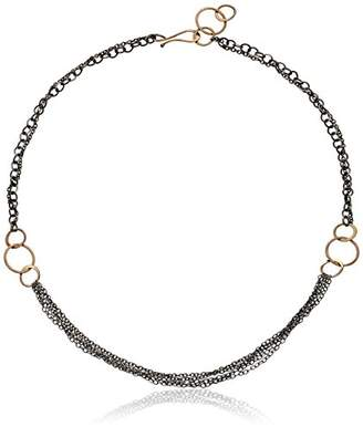 """Melissa Joy Manning Mixed Metal 16"""" Mixed Metal Tangle Chain Necklace"""