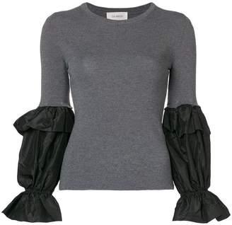 Isa Arfen cuff detail sweater