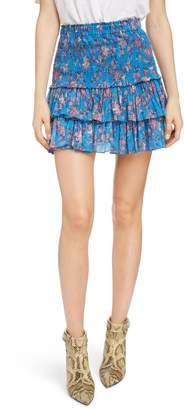 Etoile Isabel Marant Naomi Shirred Miniskirt